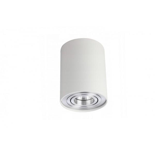 Azzardo Bross 1 biały aluminium AZ0781
