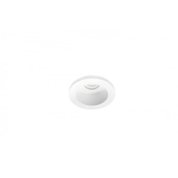 Azzardo Hera Gips Round M biały AZ3465