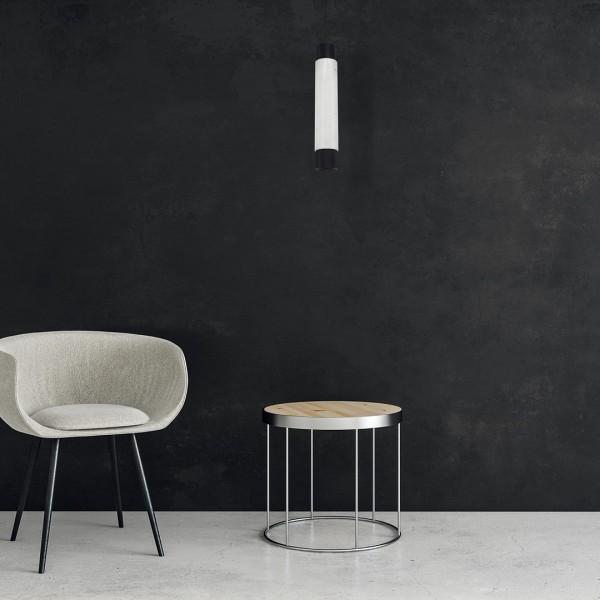 Lampa wisząca MARBLE WHITE/BLACK 1xGU10