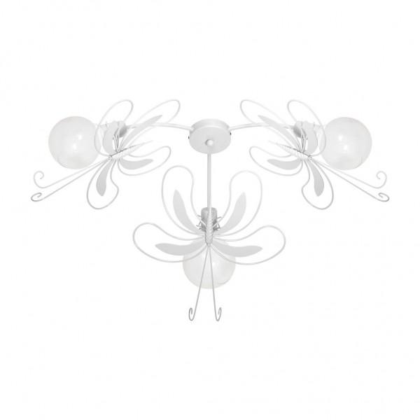 Lampa sufitowa PAŹ WHITE 3xE27