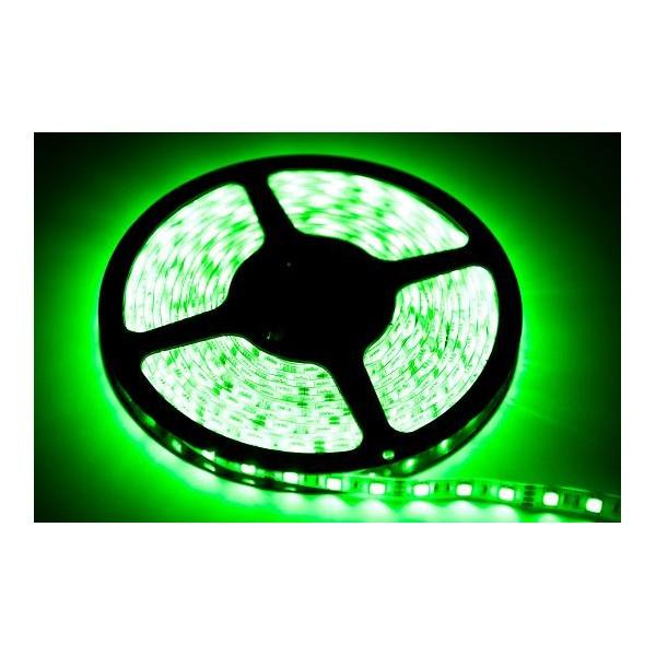 TAŚMA 60 LED 24W. Barwa Zielony. IP20. (5 metrów)